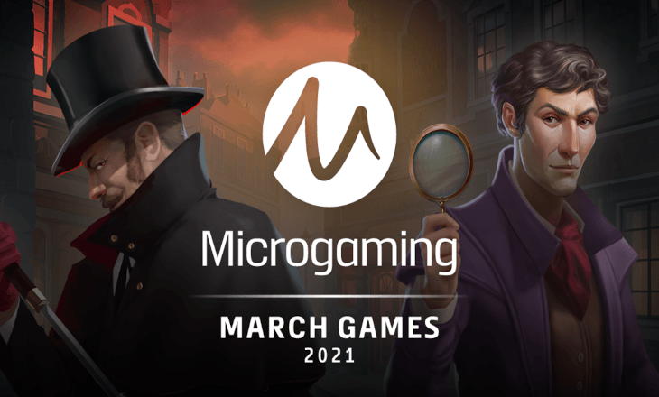 Microgaming springs into March with a release roster full of freshness