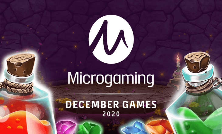 Microgaming's December release roster is packed full of delightful gifts