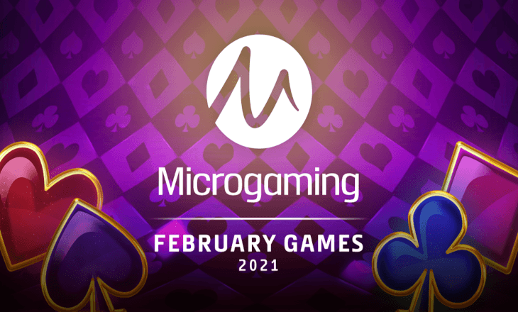 Microgaming hits all the right notes with February release roster