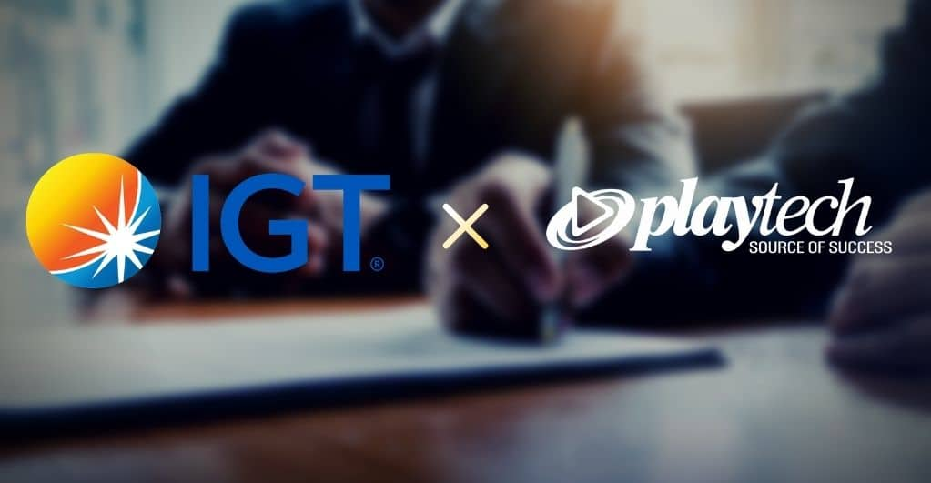 Playtech and IGT sign cross licensing partnership