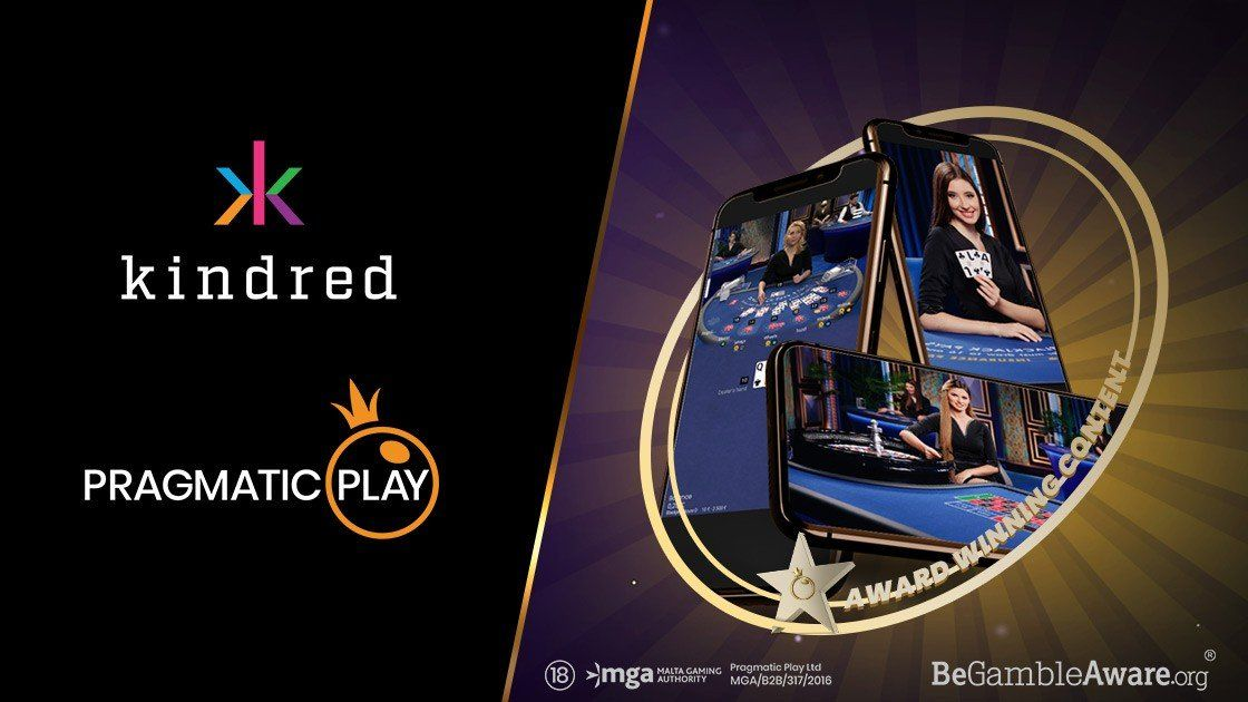 Pragmatic Play + Kindred - Live Casino Deal
