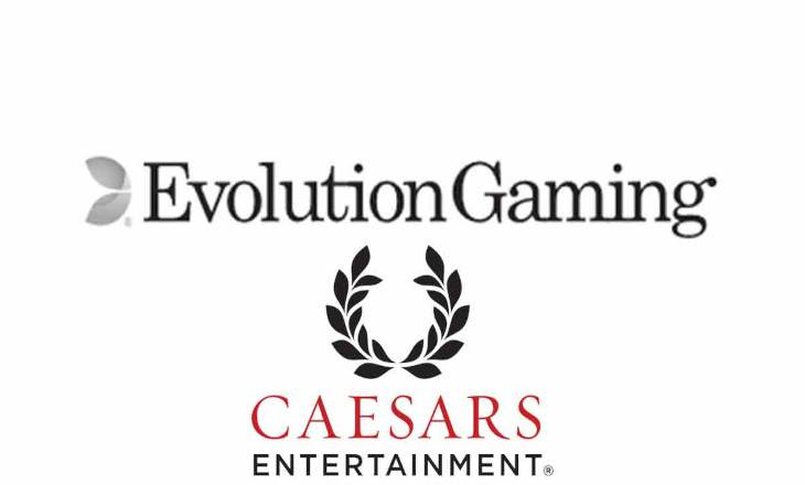 A new Live Casino conquest for Caesars with PA Evolution launch