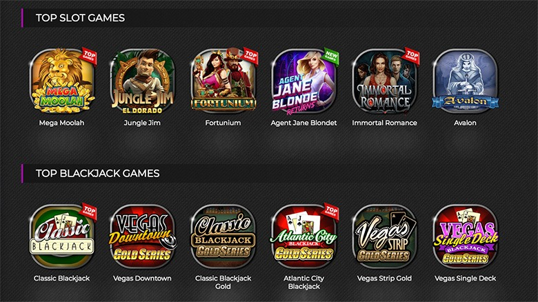 Jackpot city top casino games