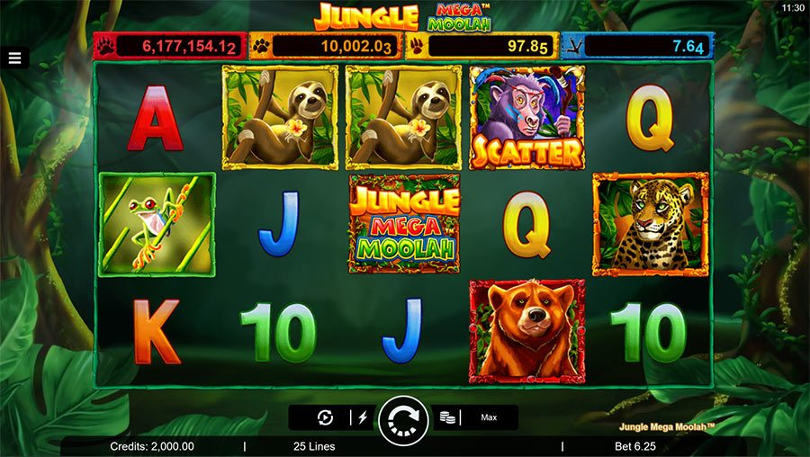 Jungle Mega Moolah