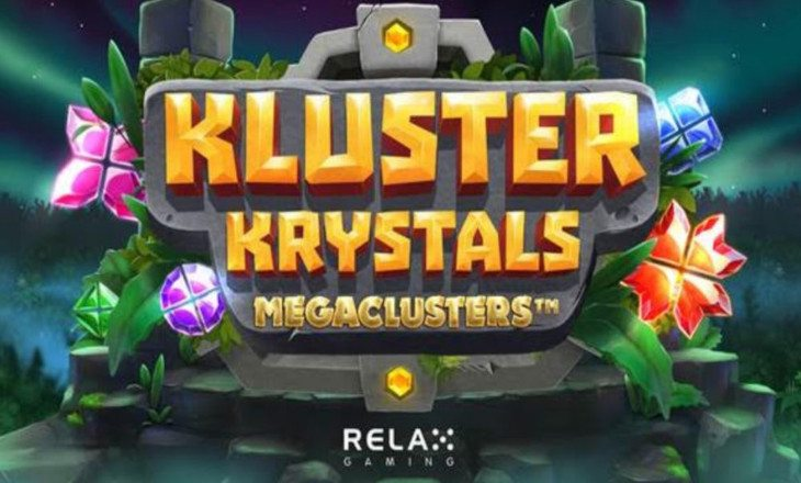 Relax Gaming offers pulse-racing prismatic play with new Kluster Krystals Megaclusters Slot