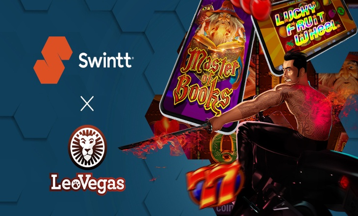 Innovative developer, Swintt, brings its content to LeoVegas